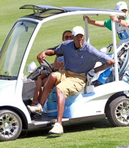 The 11th Annual Michael Jordan Celebrity Invitational golf tournament at Shadow Creek Golf Course on March 31, 2012 in Las Vegas