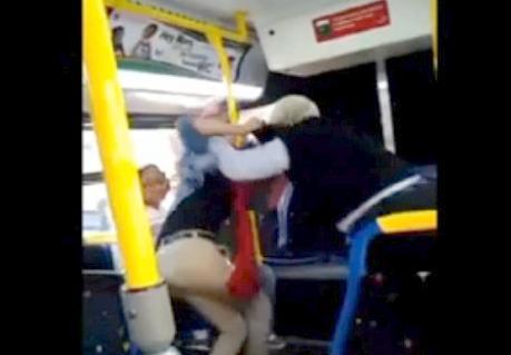 baltimore bus driver fight