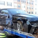 Bobbi Kristina Crashes her Car in Georgia