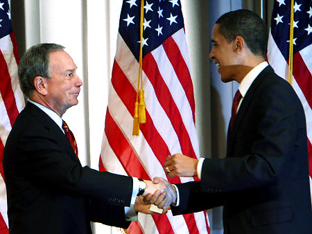 Mayor Blomberg & President Obama