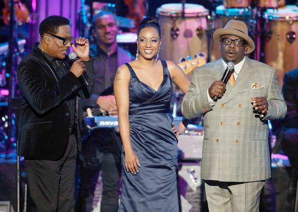 charlie wilson & cedric at soul train awards 2012