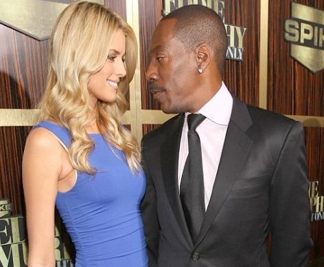 eddie murphy & blonde girlfriend