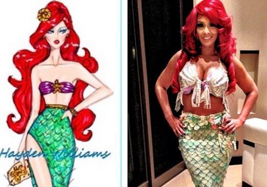 evelyn lozada as mermaid
