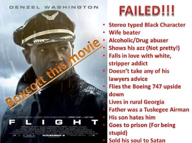 flight boycott poster