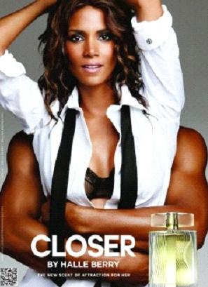 halle berry (closer fragrance ad)
