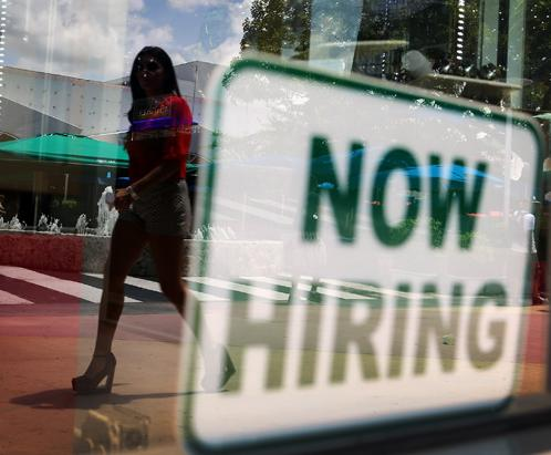 jobs report (now hiring)