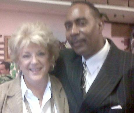 Las Vegas Mayor Carolyn G. Goodman & Farm Fresh's JR Perry
