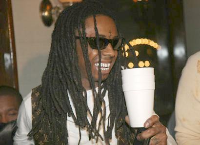 lil wayne & styrofoam cup