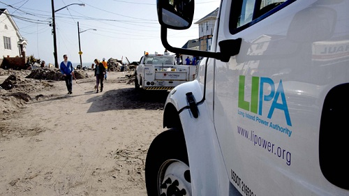 long island power authority truck