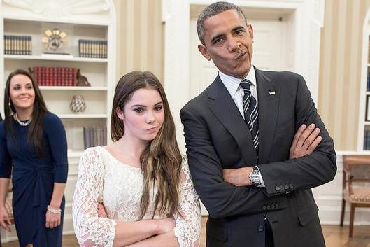 mckayla maroney president obama