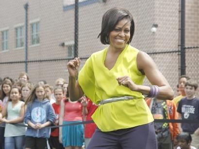 michelle obama (dancing)