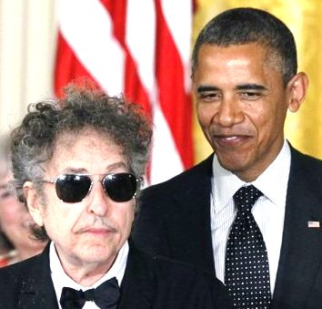 obama and dylan