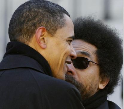 obama & cornel west