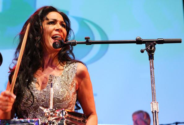 Sheila E. performing