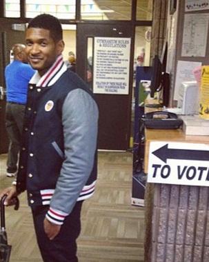 usher voting 1