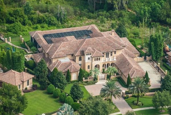 warren sapp home