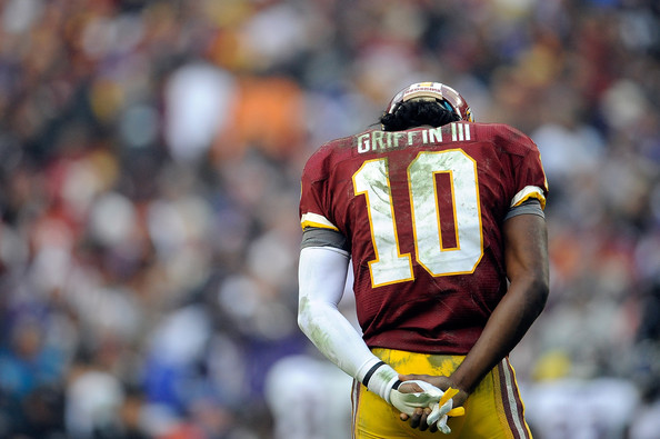 Redskins quarterback Robert Griffin III