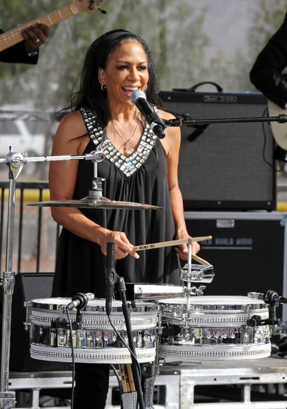Singer-percussionist Sheila E. is 56 today.