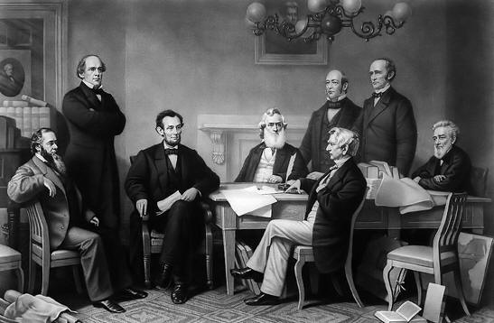 abraham lincoln & cabinet