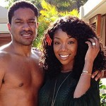 Brandy Reveals Engagement Ring in Hawaii (Pic)