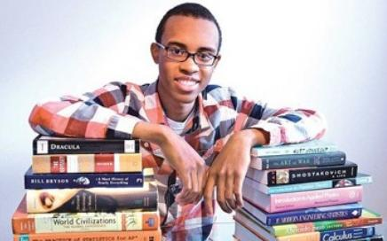cameron clarke (with books)