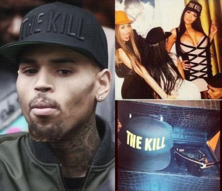 chris brown - the kill promo pics