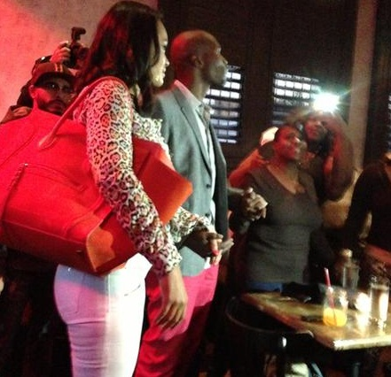 evelyn lozada & chad johnson