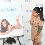 Evelyn Lozada Takes it Off for PETA