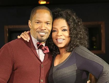 jamie foxx & Oprah