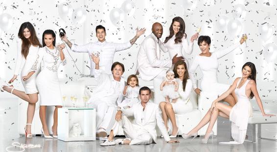 kardashians (2012) christmas card
