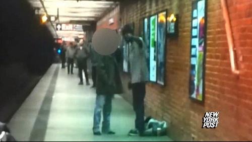 ki suk han (subway pusher)