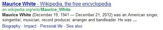 maurice white wikipedia
