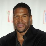 Michael Strahan Happy with his Gap