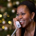 FLOTUS Answered Kids' Calls to NORAD Asking where's Santa?