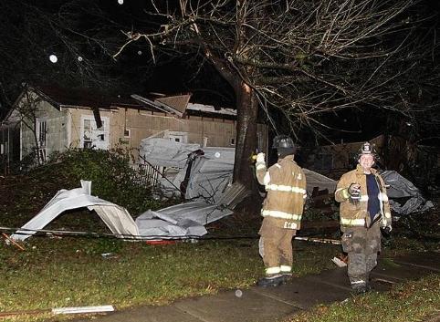 mobile, al storm damage (12-25-12)