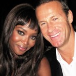 Naomi Campbell, on Crutches, Throws Party at Diddy's House