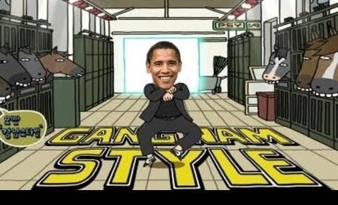 obama (gangnam style)