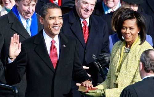 obama inauguration (barack & michelle)