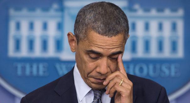 obama (tearing up)