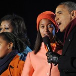 First Family Lights Up the National Christmas Tree (Photos)