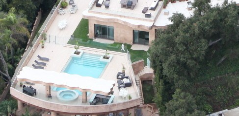 rihanna's new pacific pallisades home