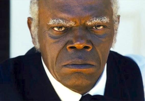 sam jackson (as stephen in django)