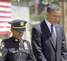 nypd sgt. stephanie moses & obama