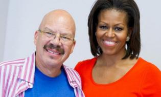 tom joyner & michelle obama