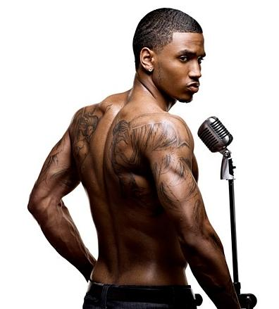 trey songz (with mic)
