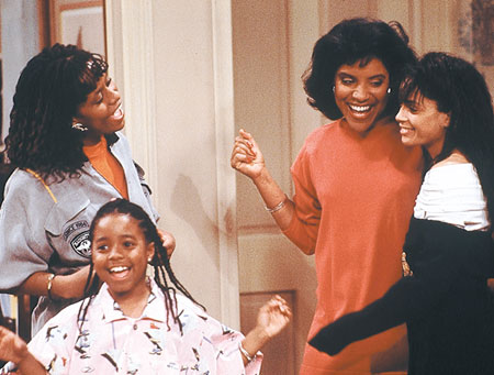 Clair Huxtable and her daughters