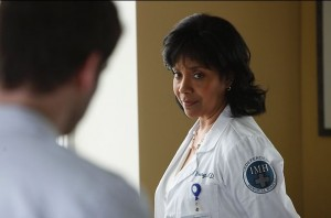"""Phylicia Rashad as Dr. Vanessa Young in NBC's """"Do No Harm"""""""