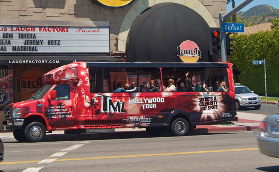 eur heads to hollywood on the tmz tour bus eurweb
