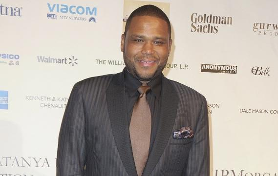 anthony anderson (at uncf evening of stars taping)