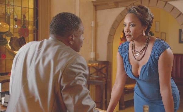 Keith David & Vivica A. Fox (photo: Michael Elins)